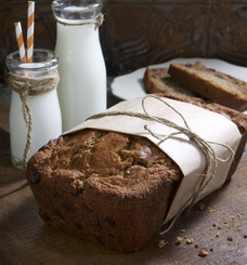 Chocolate and roasted Ras el Hanout Banana Bread